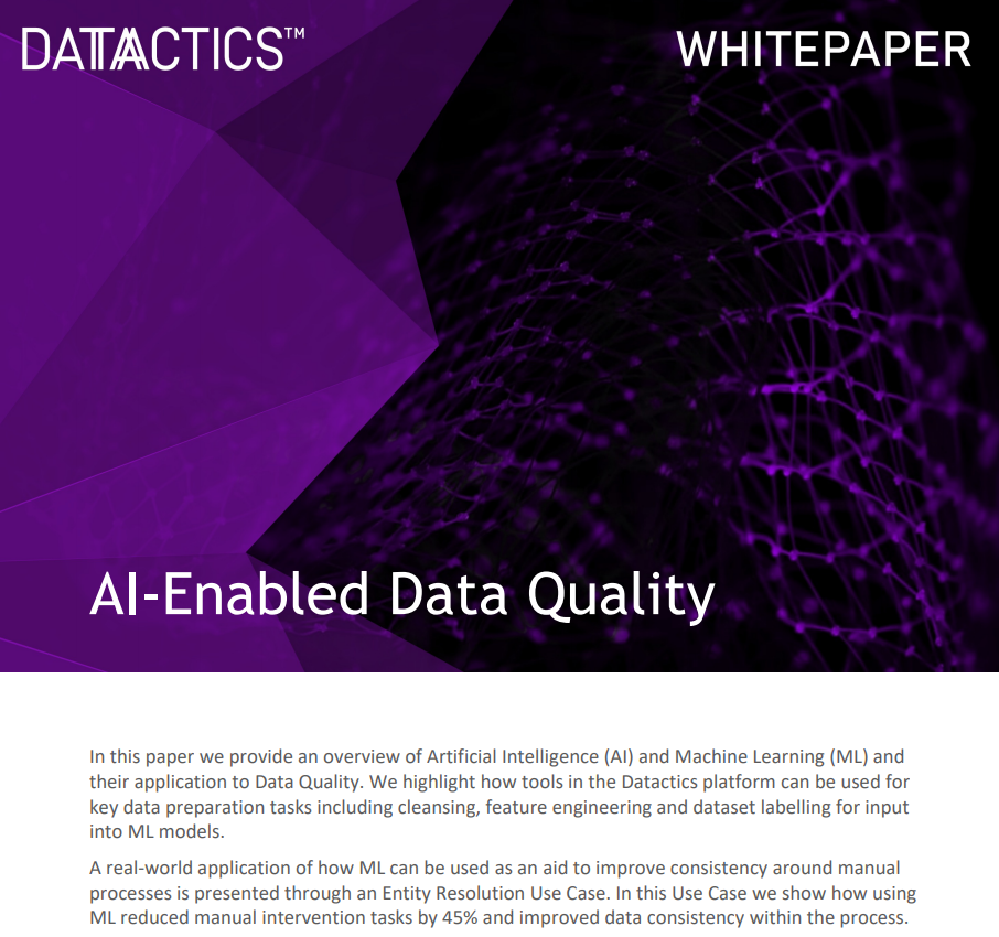 AI Whitepaper for Entity Resolution