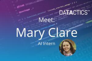 AI Intern Mary Clare
