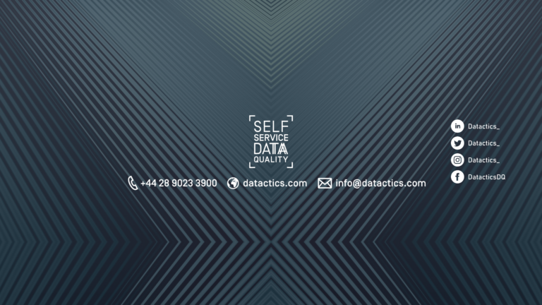 self-service data quality cover